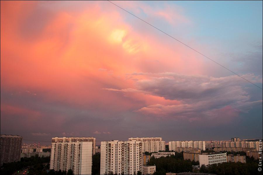 Закатные краски со всего мира