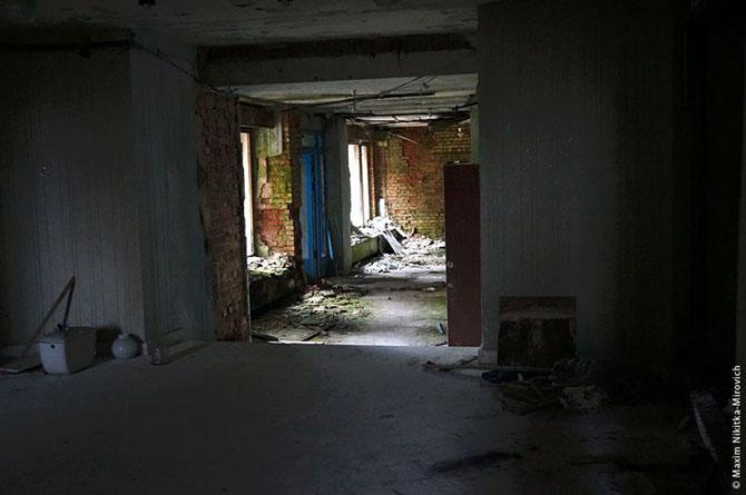 Прогулка в заброшенный санаторий