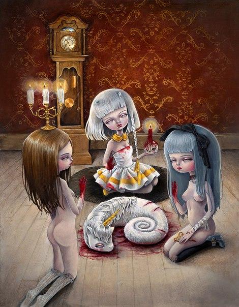 Готические девочки Kukula