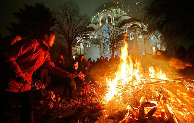 Как встречали Рождество православные христиане