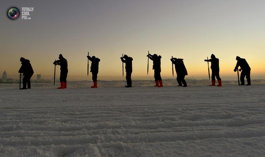 Фестиваль снега и льда 2014 в Харбине