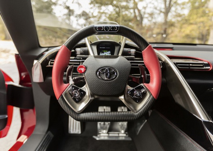 Концепт-кар Toyota FT-1