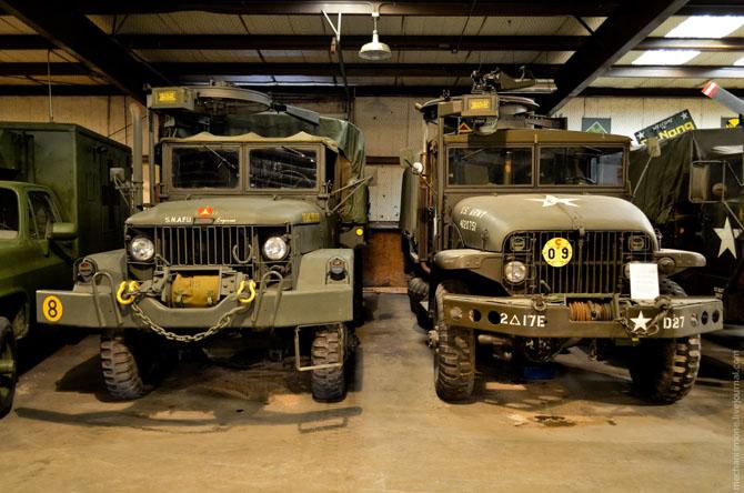 Экскурсия по музею военной техники в Хьюстоне