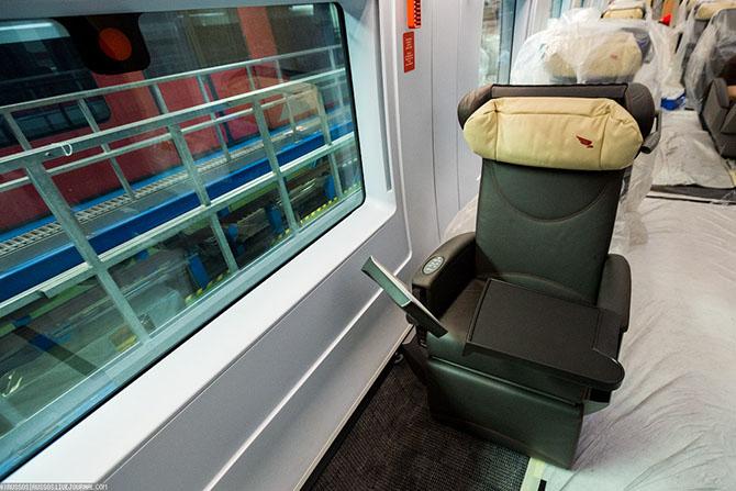 Новые поезда в моторвагонном депо Санкт-Петербурга