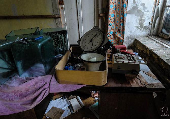 Прогулка по заброшенной текстильной фабрике в Подмосковье