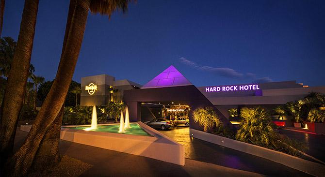 Отель Hard Rock в городе Палм-Спрингс