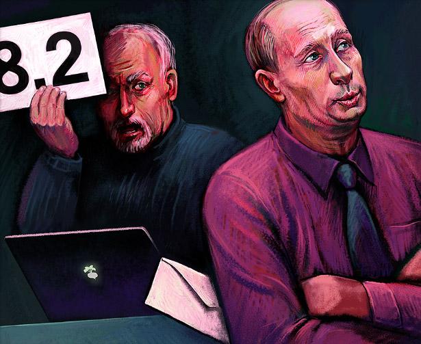 Владимир Путин в творчестве Надежды Хузиной