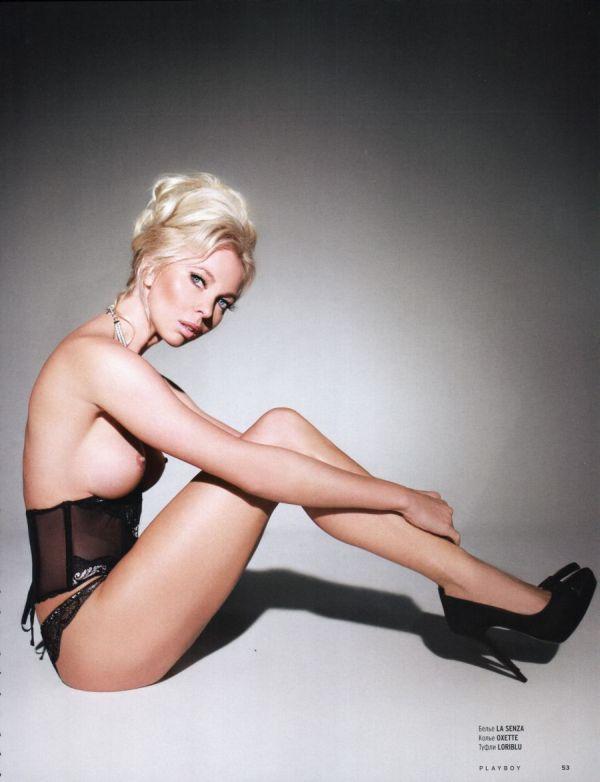 Фигуристка Татьяна Тотьмянина в журнале Playboy за февраль 2014 (7 фото)