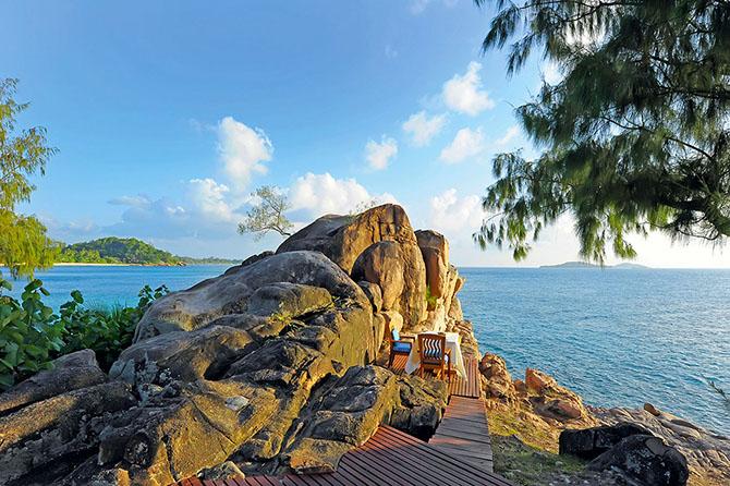 Тропический отель на Сейшелах