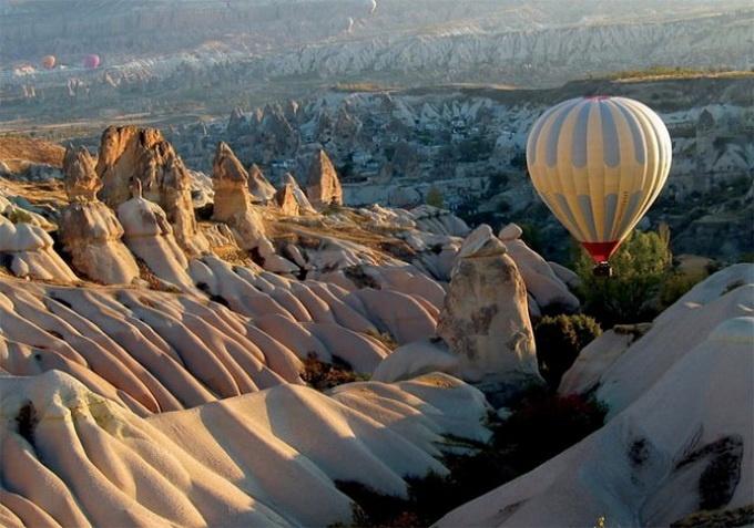 Воздушные шары в Турции (9 фото)