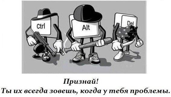 Ctrl+alt+del