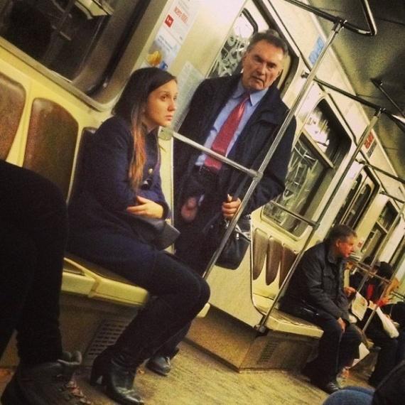 Обычный день в метро