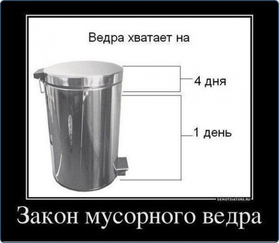 Закон мусорного ведра