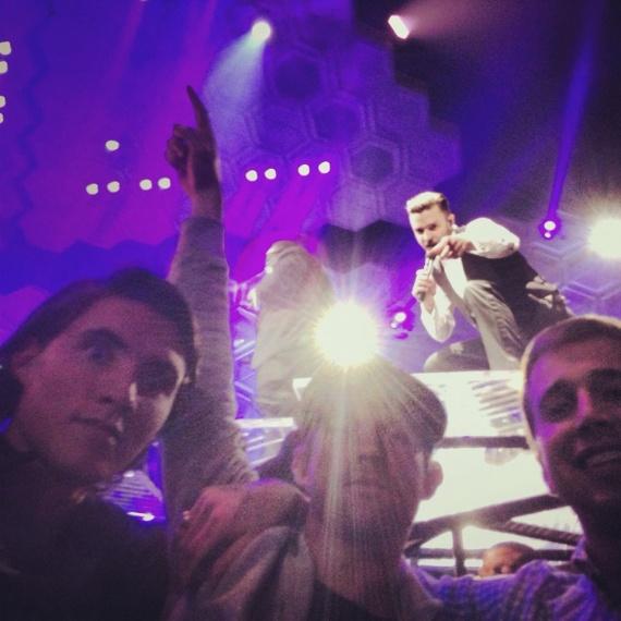 Фотобомба от Джастина Тимберлейка на его концерте