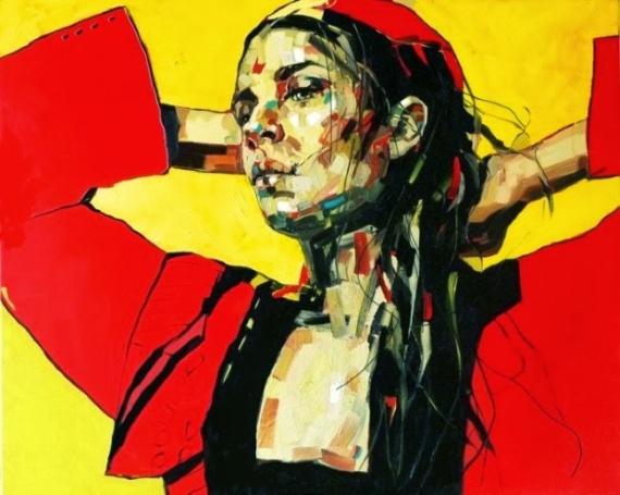 Яркие и энергичные портреты женщин. Anna Bocek