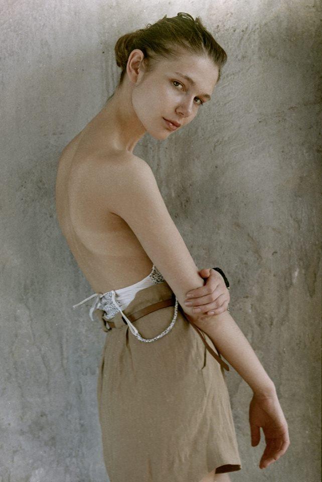 Откровенный фотосет с российской моделью Анастасией Белоцкой