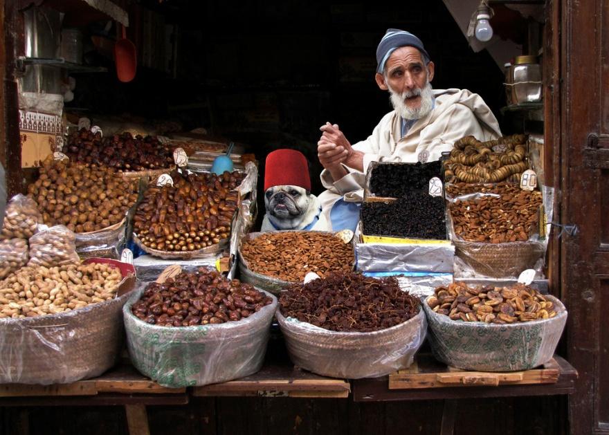 Уличная торговля в разных странах мира
