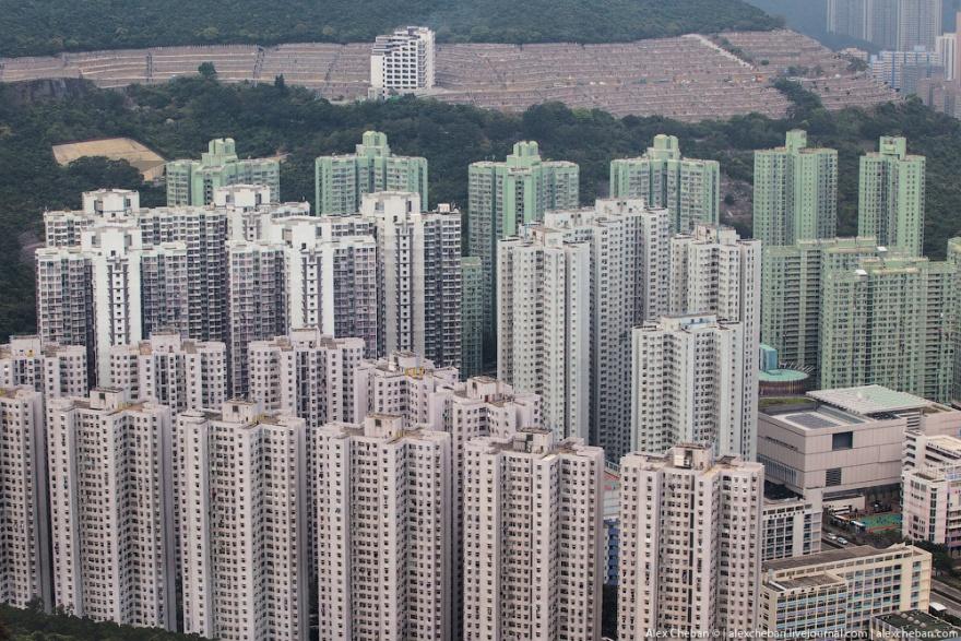 Полет над островом Гонконг (34 фото)