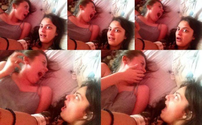 Селфи девушек пошло не по плану (5 фото)