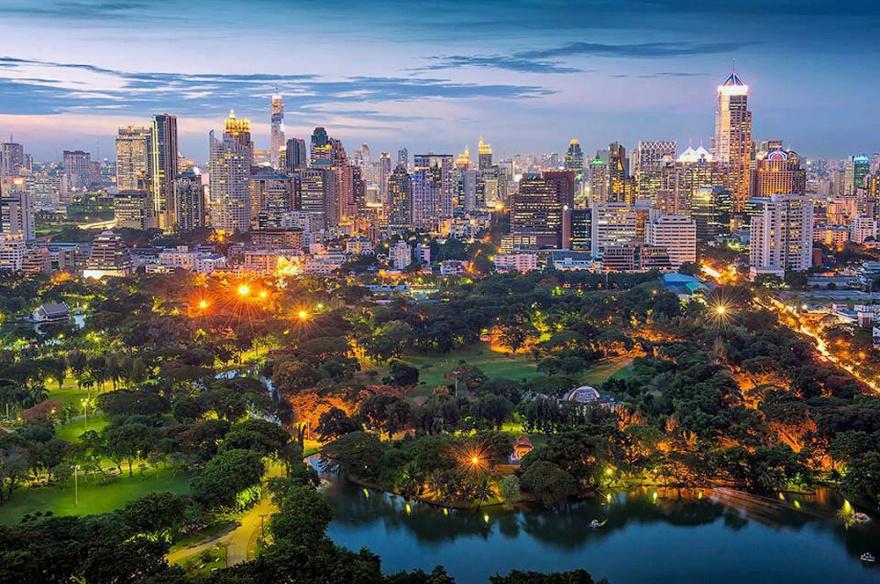 Впечатляющие городские панорамы (часть 2)