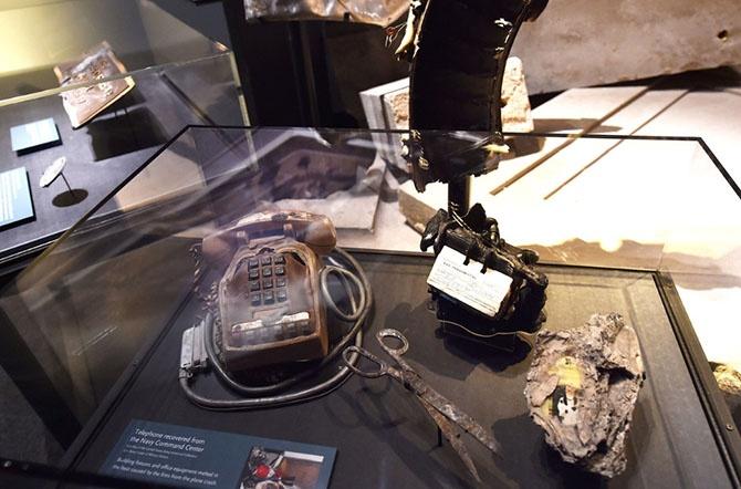 Музей 9/11 в Нью-Йорке