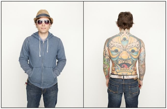 Татуировки скрытые от глаз (16 фото)