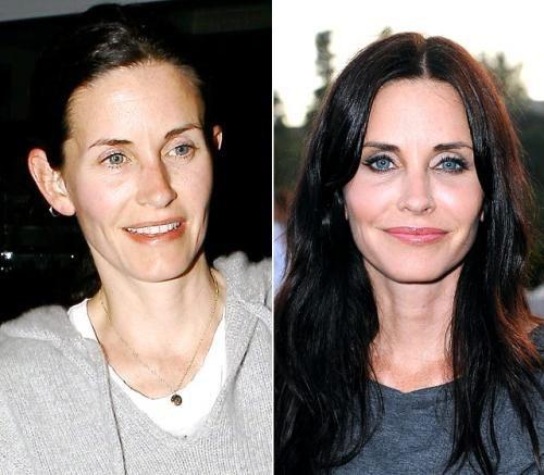 Знаменитости без макияжа (25 фото)