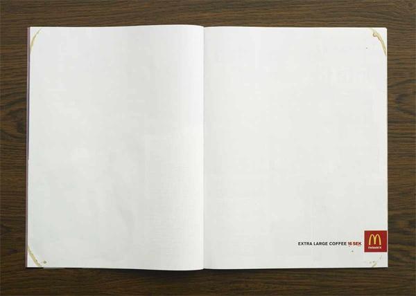 Креативная реклама в глянцевых журналах