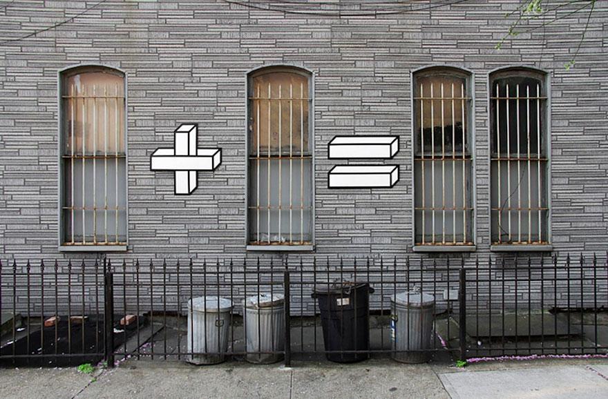 Идеально вписавшийся стрит-арт (26 фото)