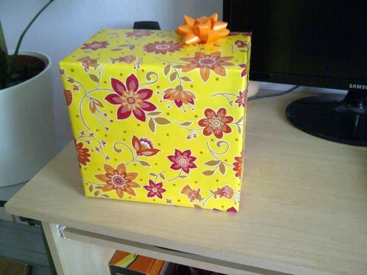 Самая садистская упаковка подарка