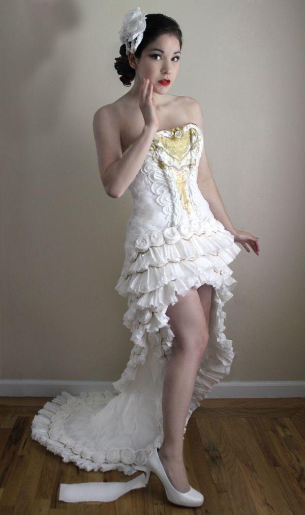 Из чего сделано это платье? (6 фото)