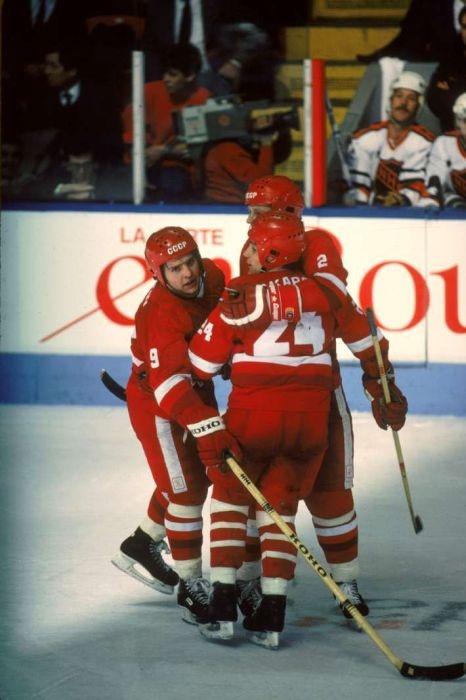 Хоккей времен СССР (62 фото)