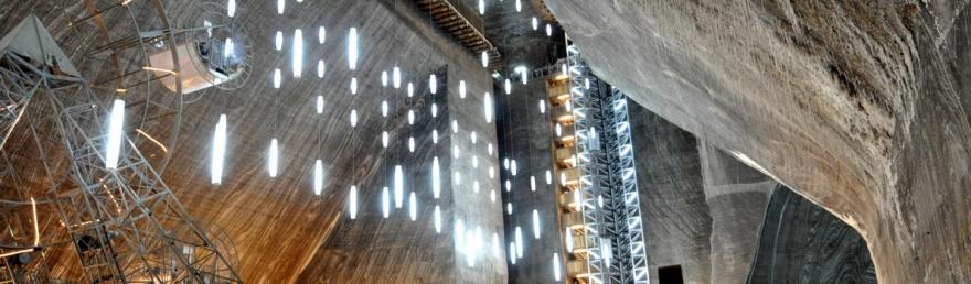 Подземный парк развлечений в Словакии