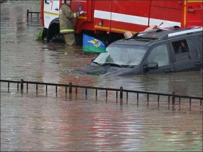 Наводнение в Смоленске (32 фото)