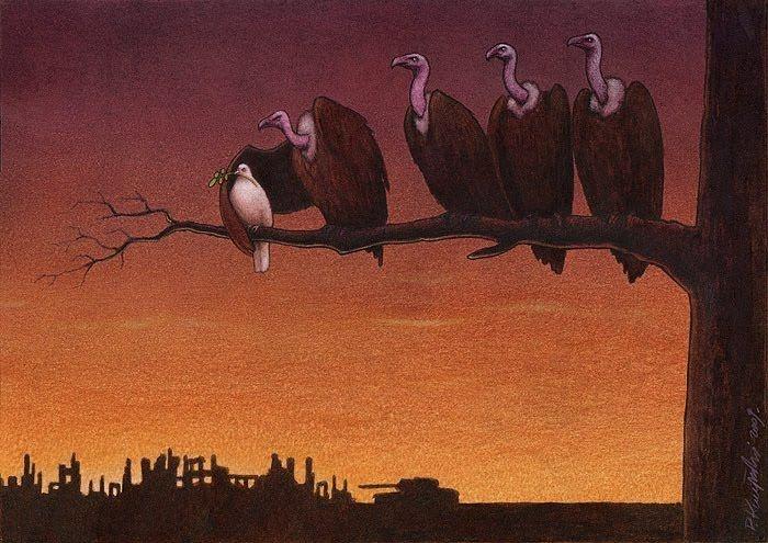 Абсурд человечества в работах Павла Качински