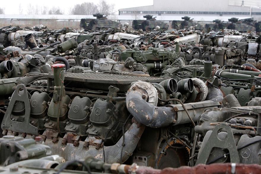 Кладбище танков под Берлином