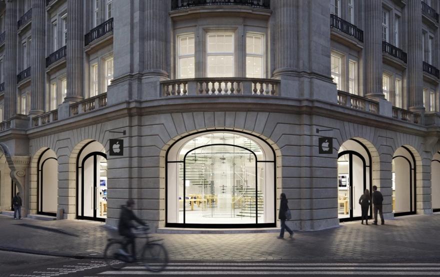 Самые красивые в мире магазины Apple