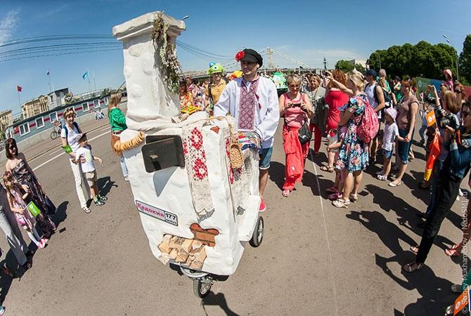 Парад колясок 2014 в Москве