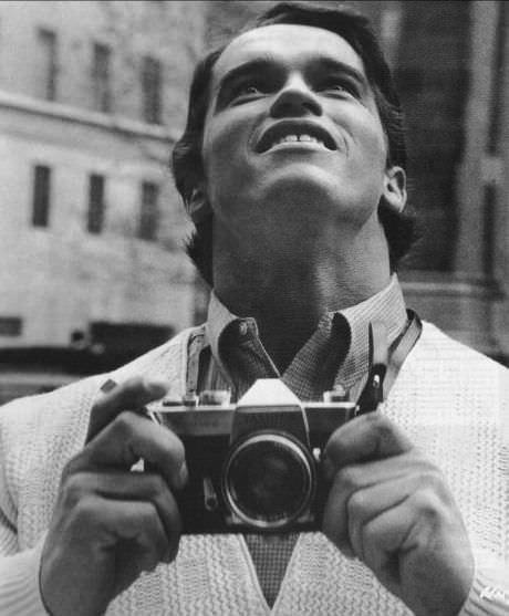 Архивные фотографии знаменитостей снятые в обычной жизни