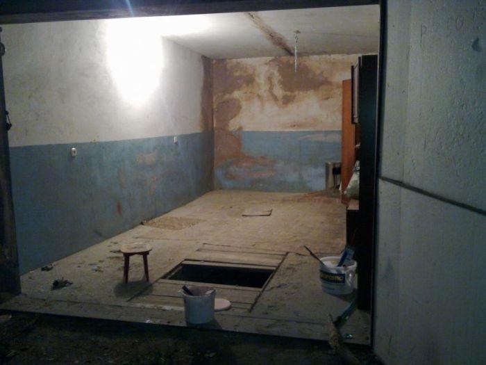 Крутой ремонт гаража (22 фото)