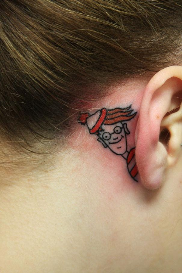 Самые креативные и остроумные татуировки