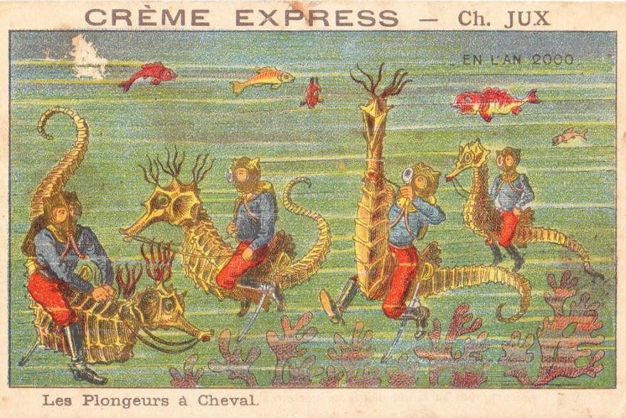 Как футурологи видели сегодняшний день 100 лет назад