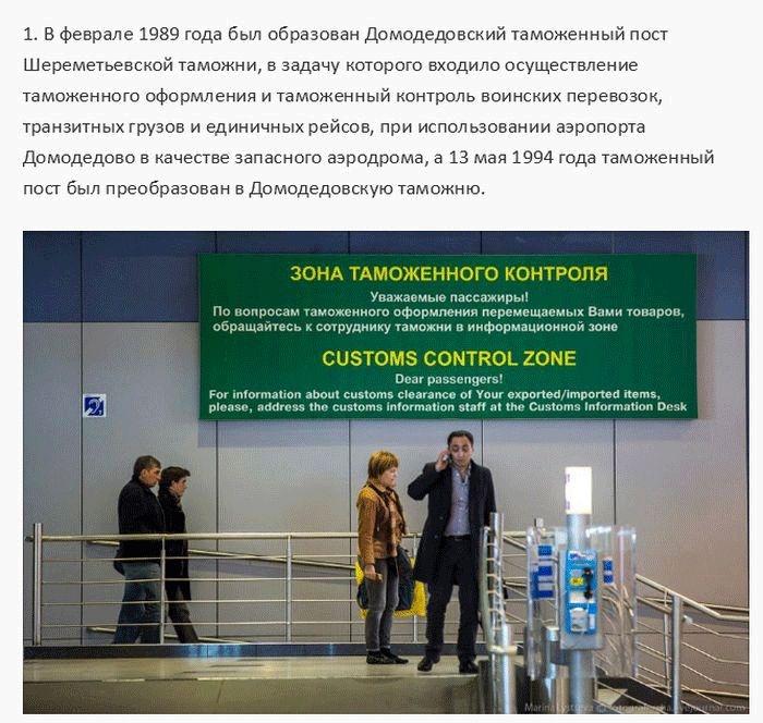 Таможне в Домодедово 20 лет (33 фото)