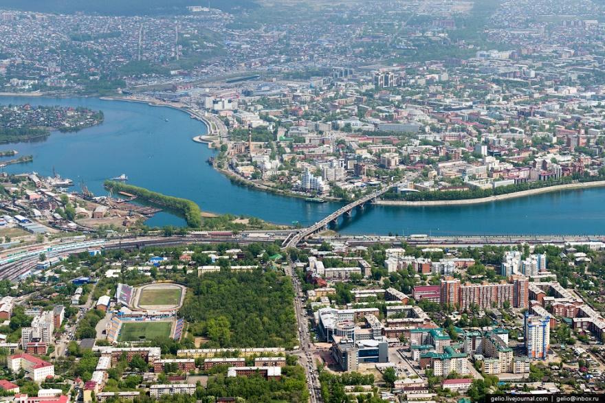 Иркутск с высоты (30 фото)
