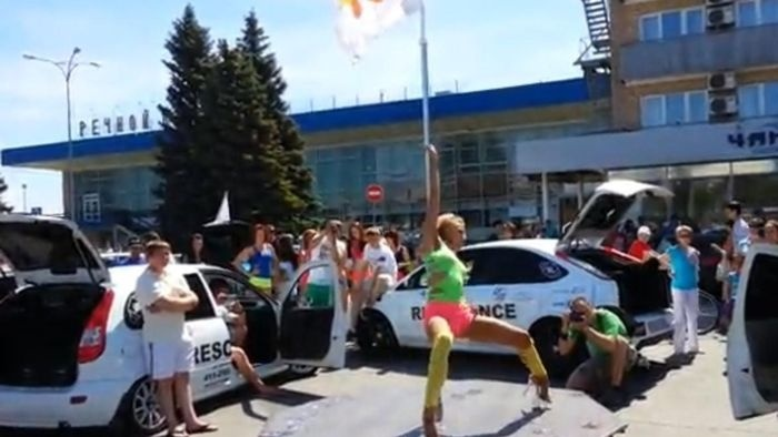 День защиты детей в Тольятти (3 фото + видео)