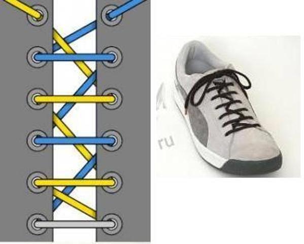 13 оригинальных способов завязывания шнурков