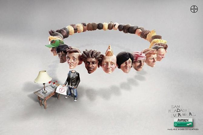 Лучшая печатная реклама мая 2014