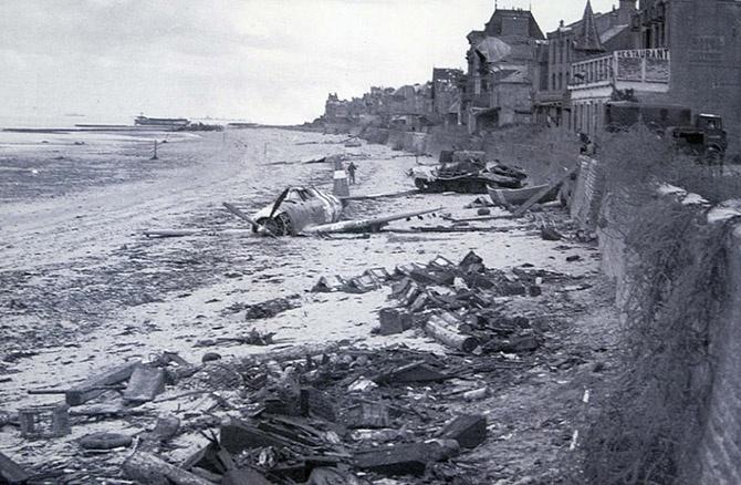 Места на сегодняшний день, разрушенные во время войны 1944 года