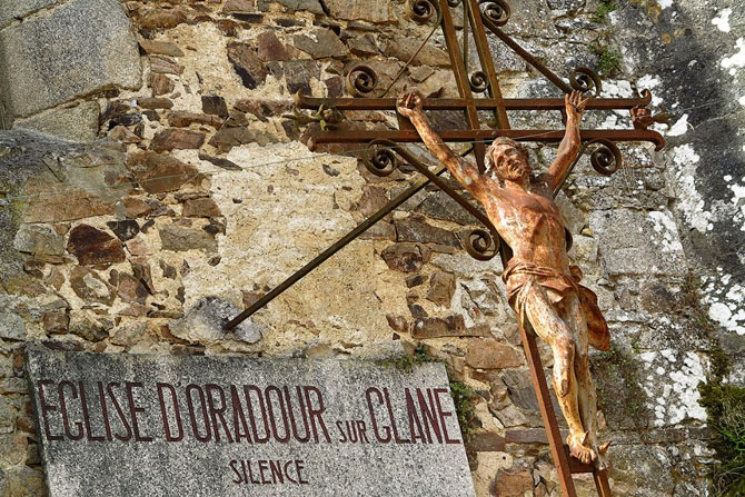 Орадур-сюр-Глан - поселок призрак