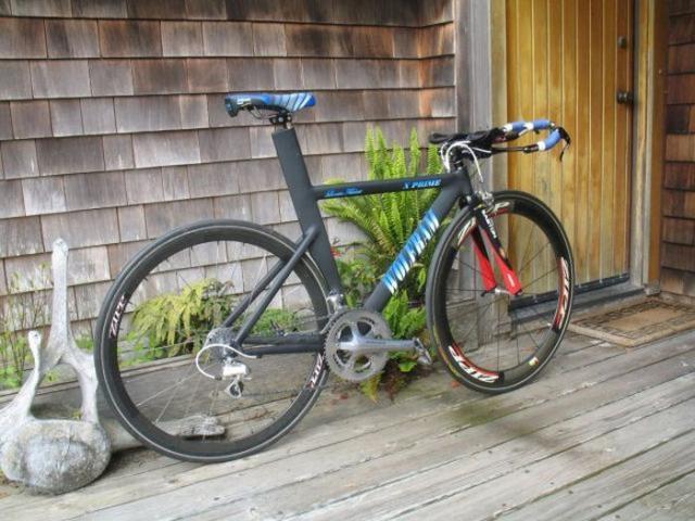 Муж сам собрал чемпионский велосипед